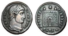 Ancient Coins - Constantine I, 307 - 337 AD, Follis of Siscia