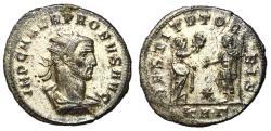 Ancient Coins - Probus, 276 - 282 AD, Antoninianus of Serdica Restoration of the World, Unpublished