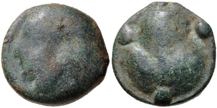 Ancient Coins - Sicily, Selinos, 535 - 415 BC