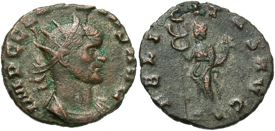 Ancient Coins - Claudius II Gothicus, 268 - 270 AD, Antoninianus of Rome, Felicitas