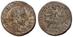 Ancient Coins - Maximinus I, 235 - 238 AD, AE Tetrassarion of Tomis, Extremely Rare