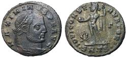 Ancient Coins - Maximinus II, 310 - 313 AD, Follis of Thessalonica