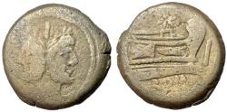 Ancient Coins - Anonymous Star Series, 169 - 158 BC, AE As