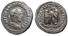 Ancient Coins - Philip I, 244 - 249 AD, Tetradrachm of Antioch, Eagle