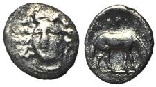 Ancient Coins - Thessaly, Larissa, 356 - 337 BC, Silver Obol, ex BCD Collection