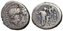 Ancient Coins - Antius & Restio, 47 BC, Silver Denarius, Rare