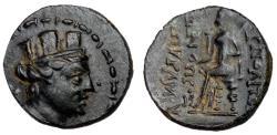Ancient Coins - Cilicia, Hierapolis-Castabala, AE22