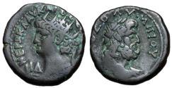 Ancient Coins - Nero, 54 - 68 AD, Tetradrachm of Alexandria, With Zeus, Rare