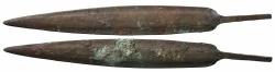 Ancient Coins - Luristan & Marlik, 1,200 - 800 BC, Bronze Arrowpoint, ex Axel Guttmann Collection