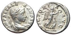 Ancient Coins - Severus Alexander, 222 - 235 AD, Silver Denarius, Victory