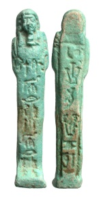 Ancient Coins - Egypt, Late Period from the 26th Dynasty to the Ptolemaic Era, circa 7th Century to 4th Century BC Named Ushabti