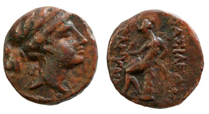 Ancient Coins - Seleukid Kingdom, Seleukos III, Soter, 225 - 222 BC
