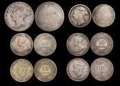 World Coins - British Honduras, Victoria - George VI, Mixed Silver, Fair - VF, a lot of (6) coins