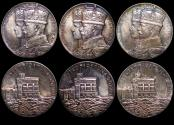 World Coins - Great Britain, George V (1910-1936), Silver Jubilee Medal, 1935, Official Royal Mint Issue (3), a lot of (3) medals