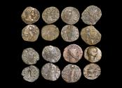Ancient Coins - Roman Empire, Crisis of the Third Century, Gallic Empire, Barbarous Radiate Imitations, struck c.250-c.280 CE, a lot of (8) coins