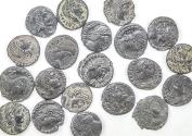 Ancient Coins - Lot of 20 Constantine Dynasty AE4, natural patina, avg VF/XF