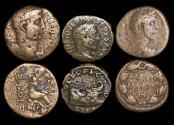 Ancient Coins - Roman Provincial, a mixed lot of (3) coins