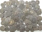 Ancient Coins - Lot of 98 late AE2,3,4 mix , Avg Fair/Good,