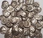 Ancient Coins - Ancient Greek, Macedonian Empire, Alexander the Great (336-323 BCE), Drachm (Lot of 5 coins) in F