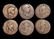 Ancient Coins - Roman Provincial, Mesopotamia, Nisibis, lot of (3) coins