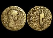 Ancient Coins - Roman Imperial, Antonia, mother of Claudius, Augusta, (41 CE), Dupondius, (RIC 92), a lot of (1) coin