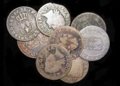 World Coins - France, Louis XV (1715-1774), Copper Liards, mostly F, a mixed lot of (8) coins