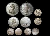World Coins - Great Britain, 18th and 19th Century Commemorative Medallions, a lot of (5) medals