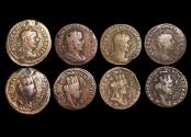 Ancient Coins - Roman Provincial, Seleucis and Pieria, Antioch ad Orontem, Philip I, a mixed lot of (4) coins