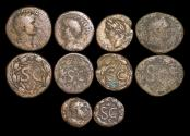 Ancient Coins - Roman Provincial, Seleucia and Pieria, Antioch, a mixed lot of (5) coins