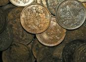 World Coins - Thailand, Rama V (1868-1910), Copper Att, KM18, Cleaned VF-EF, a lot of (34) coins