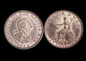 World Coins - Great Britain, George III (1760-1820), Copper Farthing, 1799, Matthew Boulton's Soho mint, Birmingham, a lot of (1) coin
