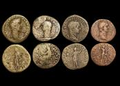 Ancient Coins - Roman Imperial, a mixed lot of (4) coins