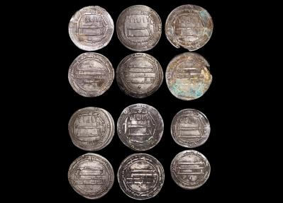 Ancient Coins - Islamic World, Abbaisd Caliphate (750-1258 CE), Silver Dirhams (5),Half Dirham (1), a lot of (6) coins