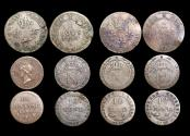 World Coins - France and Colonies, Mixed Lot Louis XVI to Napoleon I, Copper and Billon Silver, VF or better, a lot of (6) coins