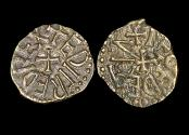 Ancient Coins - England, Anglo-Saxon, Northumbria, Æthelred II, 1st Reign (843/4-849/50), Copper Styca, moneyer Leofthegn, a lot of (1) coin