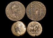 Ancient Coins - Roman Provincial, Egypt and Pamphylia, a mixed lot of (2) coins