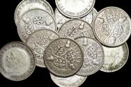 World Coins - Great Britain, George V (1910-1936), Silver Threepences, dated 1930, VF-EF, a lot of (13) coins