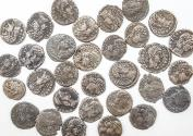 Ancient Coins - Lot of 30 Constantine Dynasty AE4, avg Fine