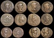 Ancient Coins - Roman Provincial, Mesopotamia and others mixed lot of (6) coins
