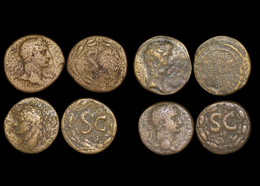 Ancient Coins - Roman Provincial, Seleucis and Pieria, Antioch ad Orontem, a mixed lot of (4) coins
