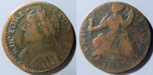 Us Coins - US Colonial Coin - Connecticut Copper - 1787, mailed bust left