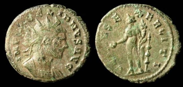 Ancient Coins - Claudius Gothicus, 268-270 AD, bronze, GENIVS EXERCI