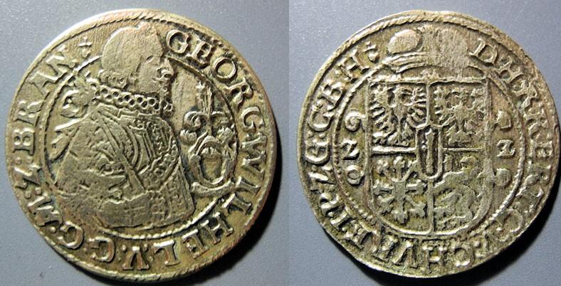 German, Brandenburg-Prussia, 1622, Georg Wilhelm, 30 years war time period