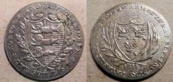 World Coins - British early 1800s silver token coinage, Yarmouth