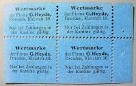 World Coins - German emergency money, 10 pfennig per, perforated &  stamp like, G Heyde