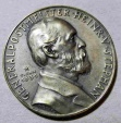 World Coins - German silver medal - Karl Goetz, General Postmaster Henrich Stephan, 1931