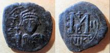 Ancient Coins - Heraclius, 610-641 AD, AE follis - Nicomedia, 2nd Officina