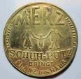 World Coins - German encased postage - Merz Schuh-Putz - 10 pfennig Germania