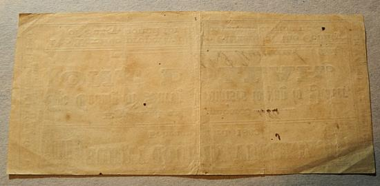 US Coins - Civil War currency, Surry, VA - a county, $1 - 1863