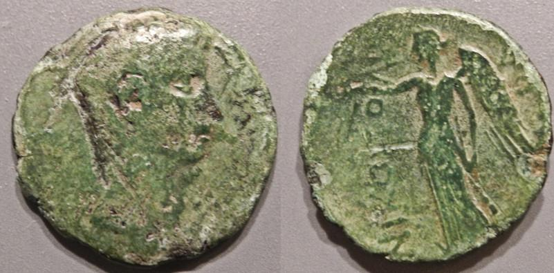 Ancient Coins - Roman Provincial - Epirus, Nicopolis, Augustus / Nike